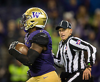 The referee was the only person who could keep up with Keishawn Bierria as he stole the onside kick and took it to the house.