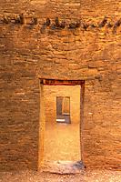 Chaco Door & Vigas - New Mexico - Chaco Canyon National Historic Park