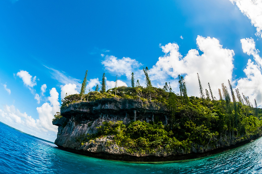 Easo cliffs, Lifou (island), Loyalty Islands, New Caledonia