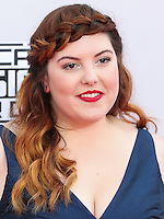 LOS ANGELES, CA, USA - NOVEMBER 23: Mary Lambert arrives at the 2014 American Music Awards held at Nokia Theatre L.A. Live on November 23, 2014 in Los Angeles, California, United States. (Photo by Xavier Collin/Celebrity Monitor)