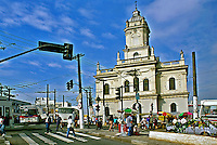 Igreja no Largo 13 de Maio em São Paulo. 1992. Foto de Juca Martins.