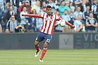Joaquin Velazquez (23) defender Chivas USA in action..Sporting Kansas City defeated Chivas USA 4-0 at Sporting Park, Kansas City, Kansas.