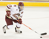 Brian Gibbons (BC - 17) - The Boston College Eagles defeated the visiting University of Vermont Catamounts 6-0 on Sunday, November 28, 2010, at Conte Forum in Chestnut Hill, Massachusetts.