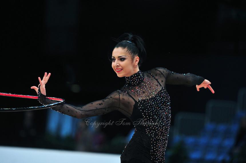 Bilyana Prodanova of Bulgaria performs at 2011 World Cup at Portimao, Portugal on April 29, 2011.  .