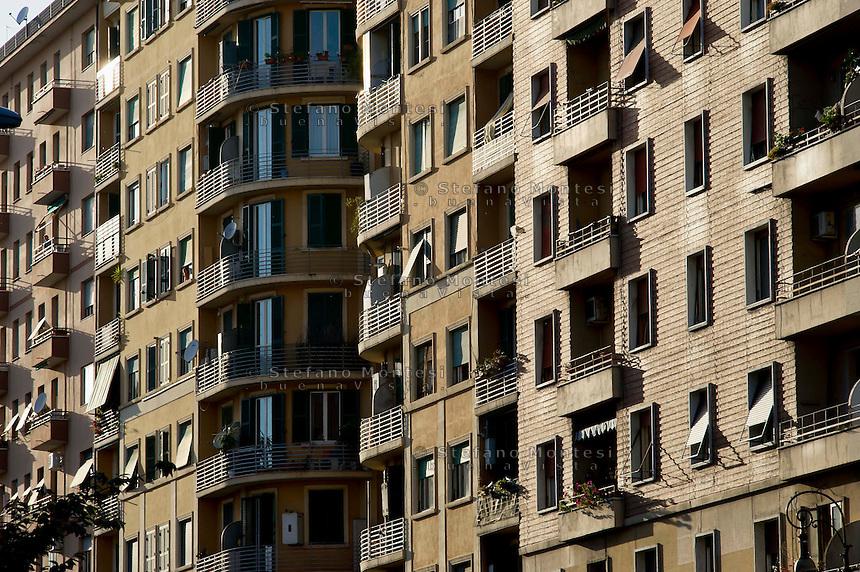 Roma 2 maggio 2013.Edifici in via Catania zona Nomentana