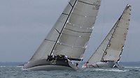 ENGLAND, Cowes, Cowes Week, 4th August 2009, Class Zero, Ran and Beau Geste.