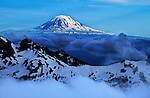 &amp;#xA;View from camp while climbing Mt. Rainier in Washington 2001.<br />