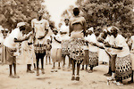 In Rumbek, South Sudan, Dinka women perform a traditional &quot;jumping dance.&quot;