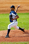 18 May 2006: Troy Martin,  a University of Maine Senior from Dover, NH, on the mound against the University of Vermont Catamounts, at Historic Centennial Field, in Burlington, Vermont...Mandatory Photo Credit: Ed Wolfstein Photo..