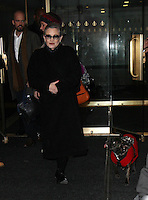 NEW YORK, NY November 21: Carrie Fisher at Today Show  to promote her new bio-book the Princess Diarist  in New York City.November 21, 2016. Credit:RW/MediaPunch