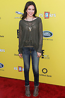 SANTA MONICA, CA, USA - NOVEMBER 16: Ryan Newman arrives at the P.S. ARTS Express Yourself 2014 held at The Barker Hanger on November 16, 2014 in Santa Monica, California, United States. (Photo by Celebrity Monitor)