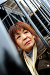 Chika Honda sits on the stairway outside her apartment in Chiba, Japan. In 1992, Honda, then 36, visited Australia in a group of seven on her first trip overseas and was arrested on entry at Melbourne Airport when more than 12 kg of heroin was found in her suitcase and the baggage of three of her traveling companions. The four were subsequently sentenced to 15 years, of which Honda served more than 10. She was released in 2002 after new evidence came to light. She has always claimed her innocence, saying the group's baggage was stolen and later replaced during a stopover in Malaysia. A fifth Japanese national in the group, Yoshio Katsuno, who was the alleged ringleader of the smuggling plot and a convicted member of the yakusa, was sentenced to 20 years. Katsuno was a frequent customer to the small restaurant where Honda used to work, and it was he who persuaded her to tag along on the trip to Australia.