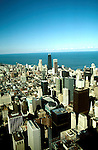 Illinois: Chicago.  View from Willis Twer, formerly the Sears Tower.  Photo chicag102..Photo copyright Lee Foster, 510/549-2202, lee@fostertravel.com, www.fostertravel.com