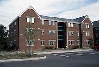 1990 October 01..Assisted Housing..Mission College...Model Unit Exterior...NEG#.NRHA#...HOUSING:M Colg 1 2:13