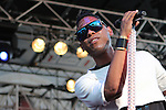 Miguel performs at the Wells Fargo Stage during Artscape 2011 in Baltimore, MD on Friday, July 15, 2011.