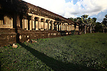 The western esplanade at Angkor Wat, Cambodia. June 8, 2013.