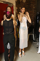 SEP 28 GUY LAROCHE backstage at Paris Fashion Week