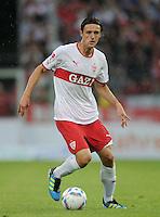 Fussball 1. Bundesliga 2011/2012  Testspiel   13.07.2011 Stuttgarter Kickers - VfB Stuttgart Christian Gentner (VfB Stuttgart) am Ball