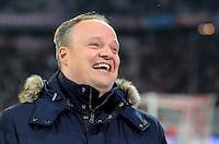 FUSSBALL  CHAMPIONS LEAGUE  ACHTELFINALE  HINSPIEL  2012/2013      FC Bayern Muenchen - FC Arsenal London     13.03.2013 TV-Moderator Oliver Welke