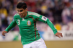 Feb. 11, 2009; Carlos Salcido (3), Mexico at USA, Crew Stadium in Columbus, Ohio in World Cup Qualifier. USA 2 - Mexico 0