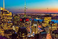 USA-New York City-Skyline-Midtown Manhattan