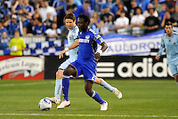 Kei Kamara...Kansas City Wizards defeated Colorado Rapids 1-0 at Community America Ballpark, Kansas City, Kansas.