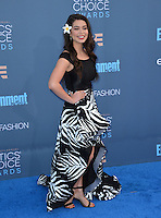 Auli'i Cravalho at the 22nd Annual Critics' Choice Awards at Barker Hangar, Santa Monica Airport. <br /> December 11, 2016<br /> Picture: Paul Smith/Featureflash/SilverHub 0208 004 5359/ 07711 972644 Editors@silverhubmedia.com
