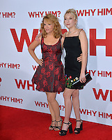 Actresses Lea Thompson &amp; daughter Madelyn Deutch at the world premiere of &quot;Why Him?&quot; at the Regency Bruin Theatre, Westwood. December 17, 2016<br /> Picture: Paul Smith/Featureflash/SilverHub 0208 004 5359/ 07711 972644 Editors@silverhubmedia.com
