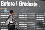 """Before I Graduate"" Art Installation"