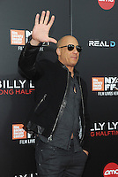 NEW YORK, NY - OCTOBER 14:  Actor Vin Diesel attends the 54th New York Film Festival 'Billy Lynn's Long Halftime Walk' screening at AMC Lincoln Square Theater on October 14, 2016 in New York City. Photo by John Palmer/ MediaPunch
