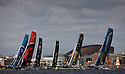 Act 5, Cardiff, Extreme Sailing Series. Day 2. ..Credit: Lloyd Images