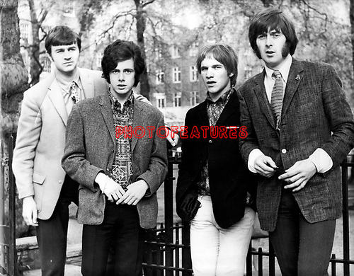Spence Davis Group 1967 Pete York Eddie Hardin Phil Sawyer Spencer Davis<br /> FROM ORIGINAL PRINT - NEG SCAN SOON<br /> &copy; Chris Walter