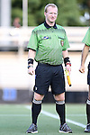 14 August 2014: Assistant Referee Forrest M. Ambrose. The Duke University Blue Devils hosted the University of South Carolina Gamecocks at Koskinen Stadium in Durham, NC in a 2014 NCAA Division I Women's Soccer preseason match. Duke won the exhibition 2-0.