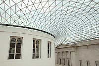 Rotunda High Ceiling View British Museum - London, UK
