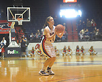 "Ole Miss' Maggie McFerrin (14)  vs. LSU in women's college basketball action at the C.M. ""Tad"" Smith Coliseum in Oxford, Miss. on Sunday, February 6, 2011. LSU won 76-38."