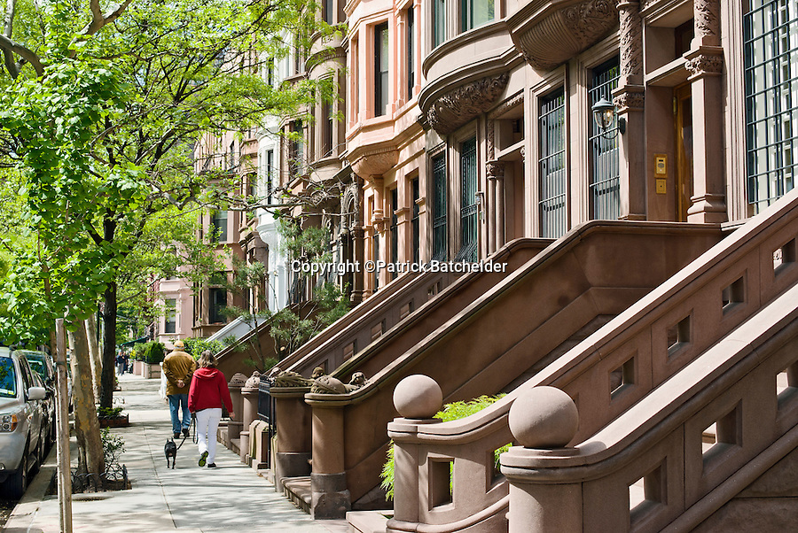 Brownstone buildings manhattan photography of new york for Apartments nyc upper west side