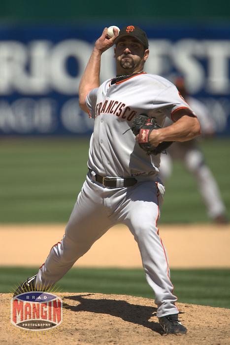 Dustin Hermanson. San Francisco Giants vs Oakland Athletics. Oakland, CA 6/27/2004 MANDATORY CREDIT: Brad Mangin
