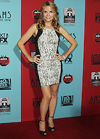 HOLLYWOOD, LOS ANGELES, CA, USA - OCTOBER 05: Lea Thompson arrives at the Los Angeles Premiere Screening Of FX's 'American Horror Story: Freak Show' held at the TCL Chinese Theatre on October 5, 2014 in Hollywood, Los Angeles, California, United States. (Photo by Celebrity Monitor)