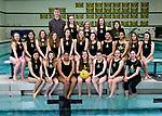 3-29-17, Huron High School girl's water polo team