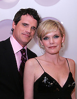 28 April 2006: As The World Turns Michael Park and Maura West  in the exclusive behind the scenes photos of celebrity television stars in the STAR greenroom at the 33rd Annual Daytime Emmy Awards at the Kodak Theatre at Hollywood and Highland, CA. Contact photographer for usage availability.