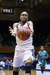 31 December 2015: Duke's Azura Stevens. The Duke University Blue Devils hosted the University of North Carolina Wilmington Seahawks at Cameron Indoor Stadium in Durham, North Carolina in a 2015-16 NCAA Division I Women's Basketball game. Duke won the game 78-56.