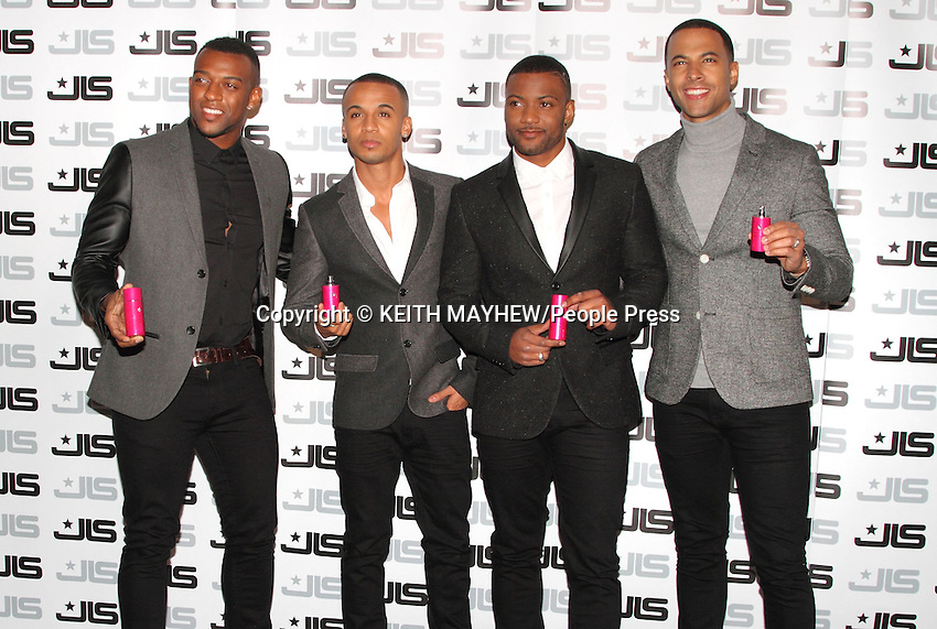 JLS Fragrance launch at One Mayfair. London - 31st January 2013..Photo by Keith Mayhew