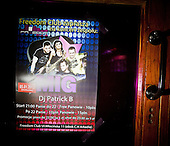 WARSAW, POLAND, JANUARY 2013:<br /> Poster of MIG, a disco polo band at the Freedom club. Disco polo is a type of dance music which originated in rural areas of Poland. Though considered tacky by many people, it is becoming incredibly popular<br /> (Photo by Piotr Malecki / Napo Images)<br /> <br /> Warszawa, styczen 2013:<br /> Plakat zespolu MIG w klubie Freedom.Fot: Piotr Malecki / Napo Images