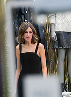 British TV presenter and model Alexa Chung meets fans and celebrates the launch of her next Archive collection, in collaboration with high street brand M&amp;S, at M&amp;S Marble Arch, London on November 1st, 2016.<br /> CAP/JOR<br /> &copy;JOR/Capital Pictures /MediaPunch ***NORTH AND SOUTH AMERICA ONLY***