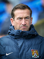 Northampton Town manager Justin Edinburgh <br /> <br /> Photographer Alex Dodd/CameraSport<br /> <br /> The EFL Sky Bet League One - Bolton Wanderers v Northampton Town - Saturday 18th March 2017 - Macron Stadium - Bolton<br /> <br /> World Copyright &copy; 2017 CameraSport. All rights reserved. 43 Linden Ave. Countesthorpe. Leicester. England. LE8 5PG - Tel: +44 (0) 116 277 4147 - admin@camerasport.com - www.camerasport.com