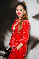 LONDON, UK. November 21, 2016: Katya Jones at the &quot;Allied&quot; UK premiere at the Odeon Leicester Square, London.<br /> Picture: Steve Vas/Featureflash/SilverHub 0208 004 5359/ 07711 972644 Editors@silverhubmedia.com
