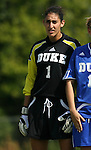 23 September 2007: Duke's Allison Lipsher. The Duke University Blue Devils defeated the Ohio State University Buckeyes 2-1 at Koskinen Stadium in Durham, North Carolina in an NCAA Division I Women's Soccer game, and part of the annual Duke Adidas Classic tournament.