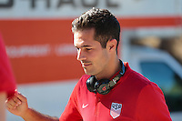 San Diego, CA - Sunday January 29, 2017: Benny Feilhaber prior to an international friendly between the men's national teams of the United States (USA) and Serbia (SRB) at Qualcomm Stadium.