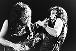 Dio 1974 Viv Campbell and Ronnie James Dio....