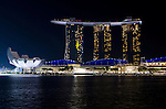 Singapore Marina BaySands Hotel and Art-Science Museum
